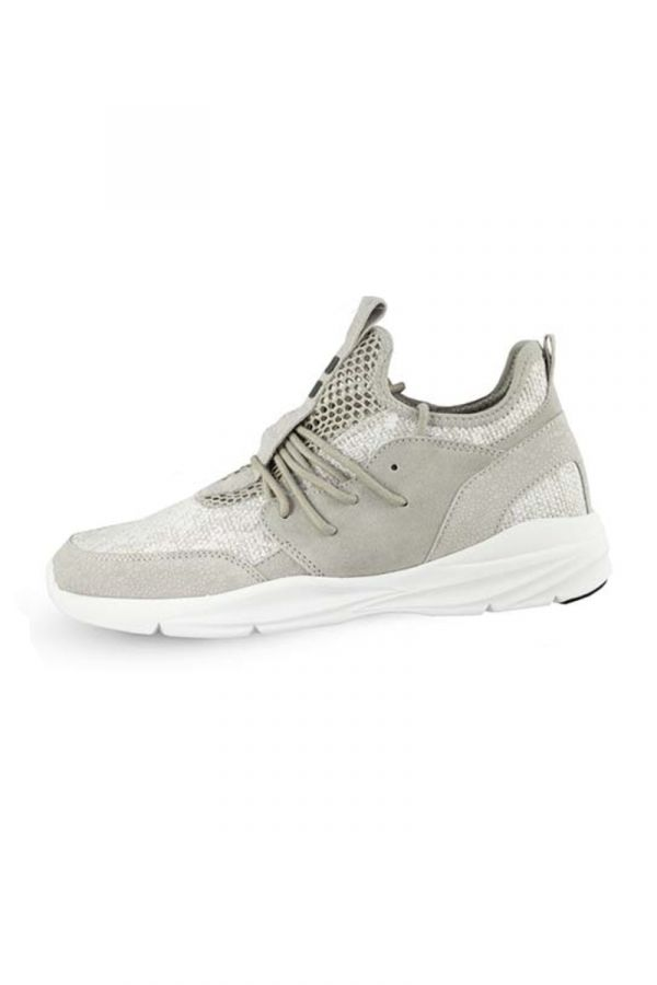 Suede sneakers in grey colour