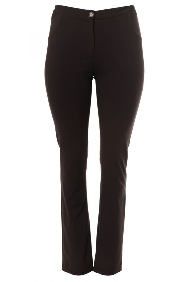 """""""Roma"""" trousers in brown colour"""