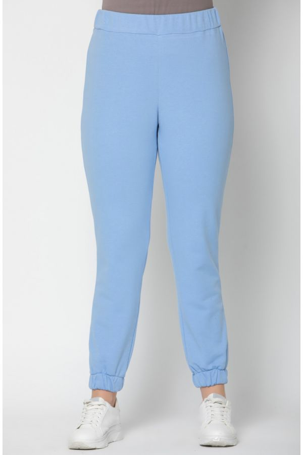 Sweat joggers in light blue colour
