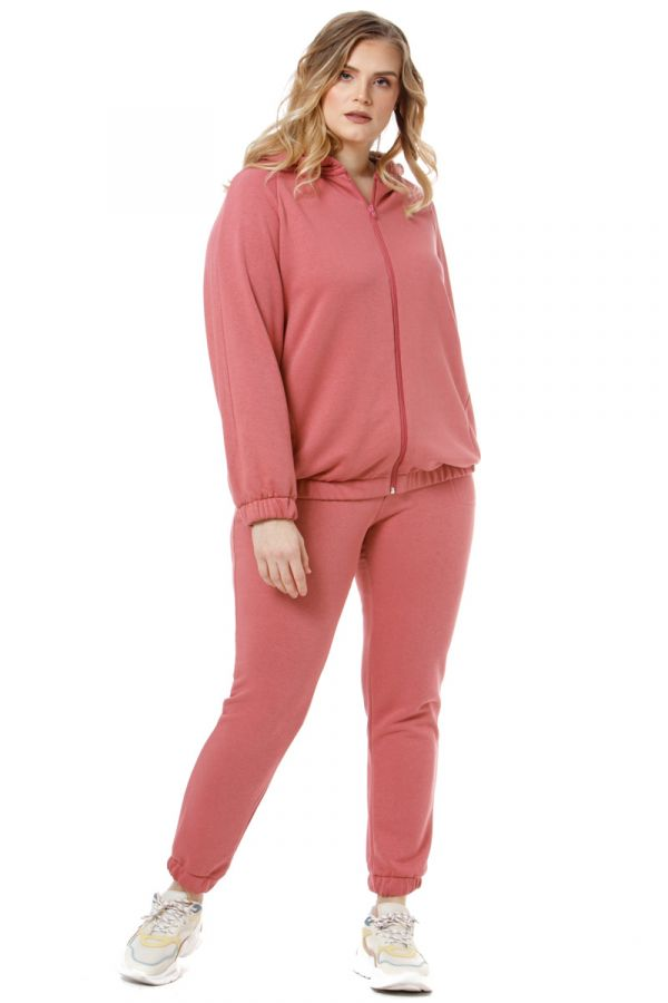 Tracksuit top in dusty pink colour