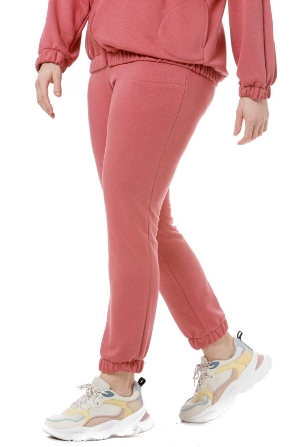 Tracksuit bottoms in dusty pink colour
