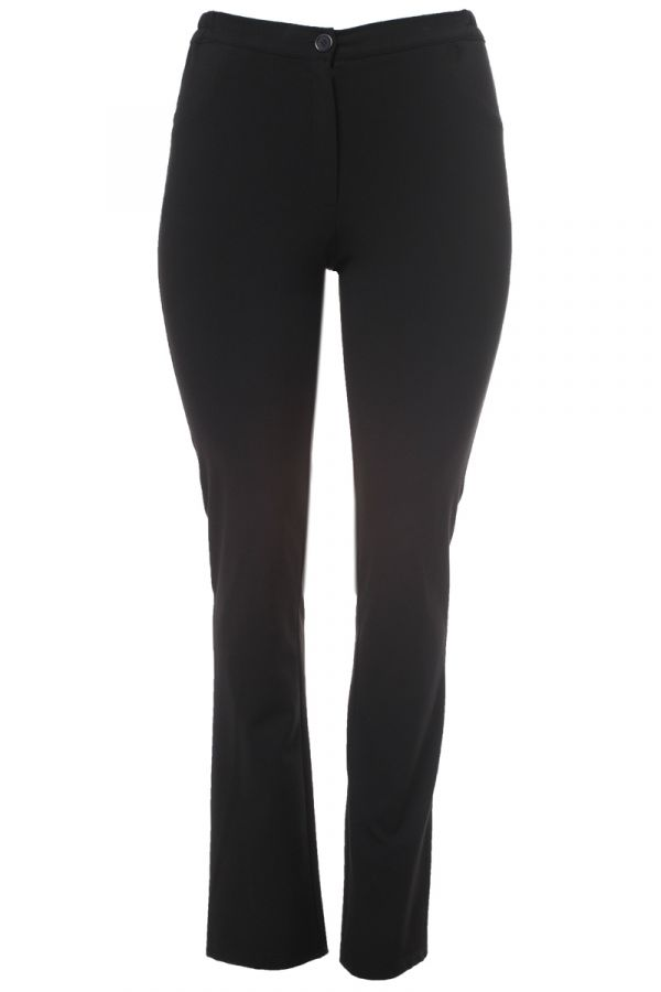 """Roma"" trousers in black colour"